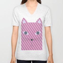 Pattern cat Unisex V-Neck