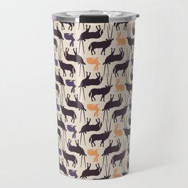 Antelopes and rabbits Travel Mug