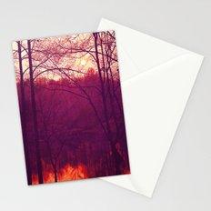 Lake Sunrise Stationery Cards