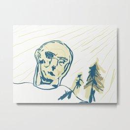 Land in the Sun Metal Print
