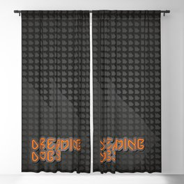 Dreaming Dogs . Logo Blackout Curtain