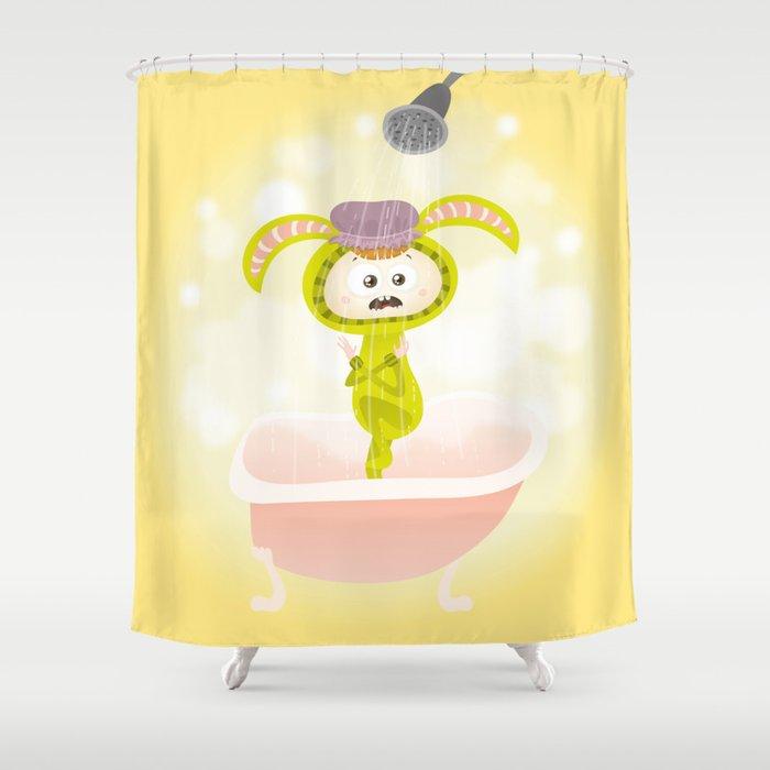 Bathing Zayaz Shower Curtain