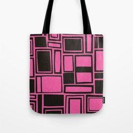 Windows & Frames - Pink Tote Bag