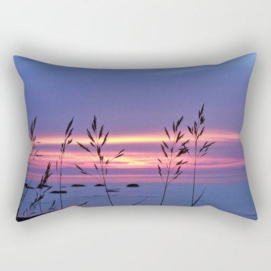 Simplicity by the Sea Rectangular Pillow