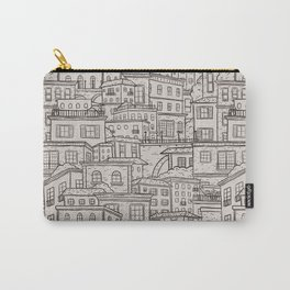 Urbana Ivory & Charcoal Carry-All Pouch