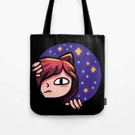 Saying Meow To The Universe Tote Bag