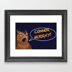 connor murray Framed Art Print