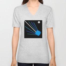 Asteroid Unisex V-Neck