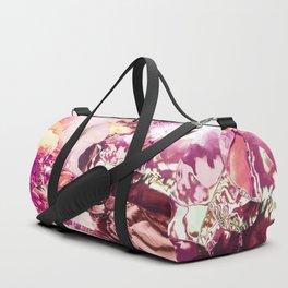 Pink planet sunrise Duffle Bag