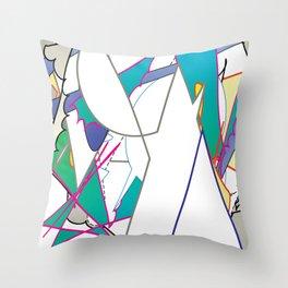 Color #8 Throw Pillow