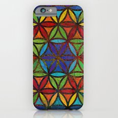 The Flower of Life (Sacred Geometry) 3 Slim Case iPhone 6s