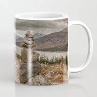 scotland Mugs featuring Scotland by Miguel Cardoso