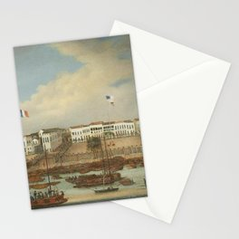 Anglo-Chinese School, The hongs at Canton, 1840 Stationery Cards