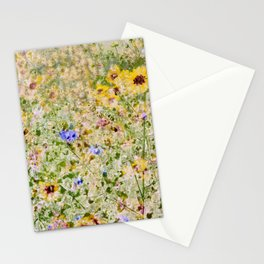 Floral Interlace Stationery Cards