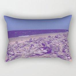 Purple Gaze Rectangular Pillow