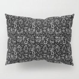Old School Tattoo Pattern Pillow Sham
