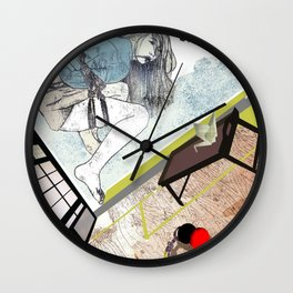 shibari_4 Wall Clock