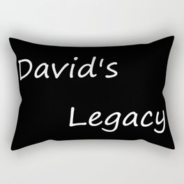 David's Legacy (Inverted) Rectangular Pillow