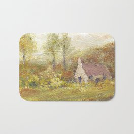 Impressionism Country Home Bath Mat