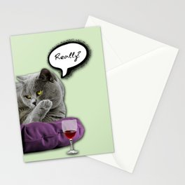 DRUNKY CAT Stationery Cards