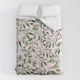 Blushing Ivy Duvet Cover
