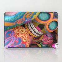 sugar skulls iPad Cases featuring sugar skulls by wet yeti