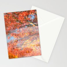 Autumn Gold Stationery Cards