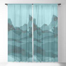 Mountain X 0.1 Sheer Curtain