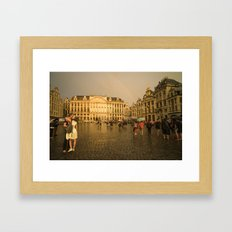 From Brussells with Love Framed Art Print