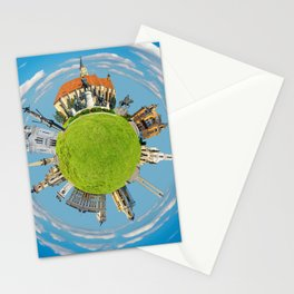 cluj napoca little planet Stationery Cards