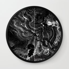 Danielle Fedorshik x Chelsea Wolfe Wall Clock