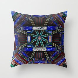 The Long Corridor in Summer Palace, Beijing Throw Pillow