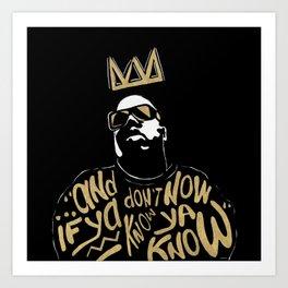 Brooklyn's King Art Print
