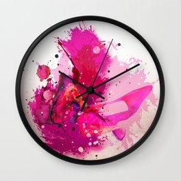 Kiss, kiss, kiss Wall Clock