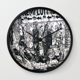 Soup Wall Clock