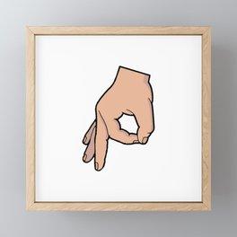 The Circle Game Framed Mini Art Print