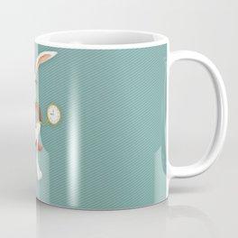 Mr. White Rabbit Coffee Mug