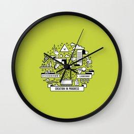 Creation in progress V4 Wall Clock