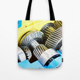 Gear speed reducer Tote Bag