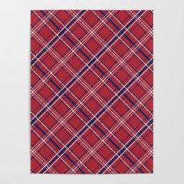 Patriotic Pattern | United States Of America USA Poster