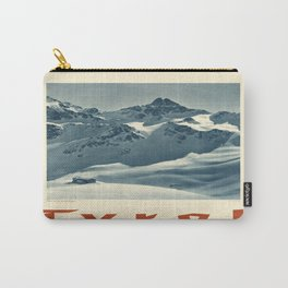 Vintage poster - Tyrol Carry-All Pouch
