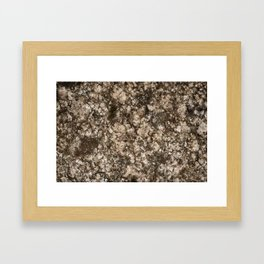 Stone background 4 Framed Art Print