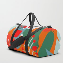 Cacti, fruits and flowers Duffle Bag