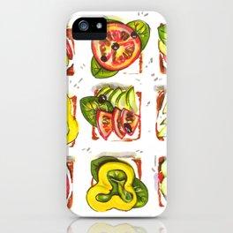 go vegan! iPhone Case