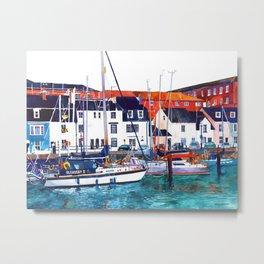 Weymouth Port Metal Print