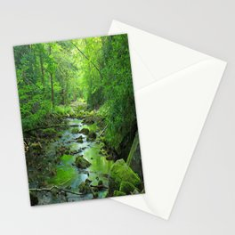 Rocky Forest Creek Stationery Cards