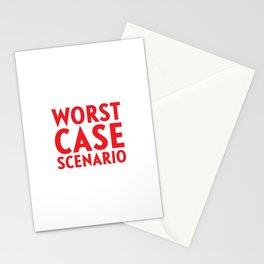 Worst Case Scenario Stationery Cards