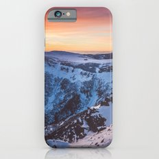 Sunset over the mountains iPhone 6s Slim Case