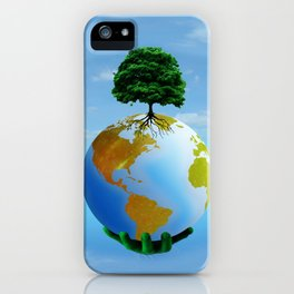 SAFE HANDS iPhone Case