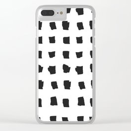 Coit Pattern 69 Clear iPhone Case
